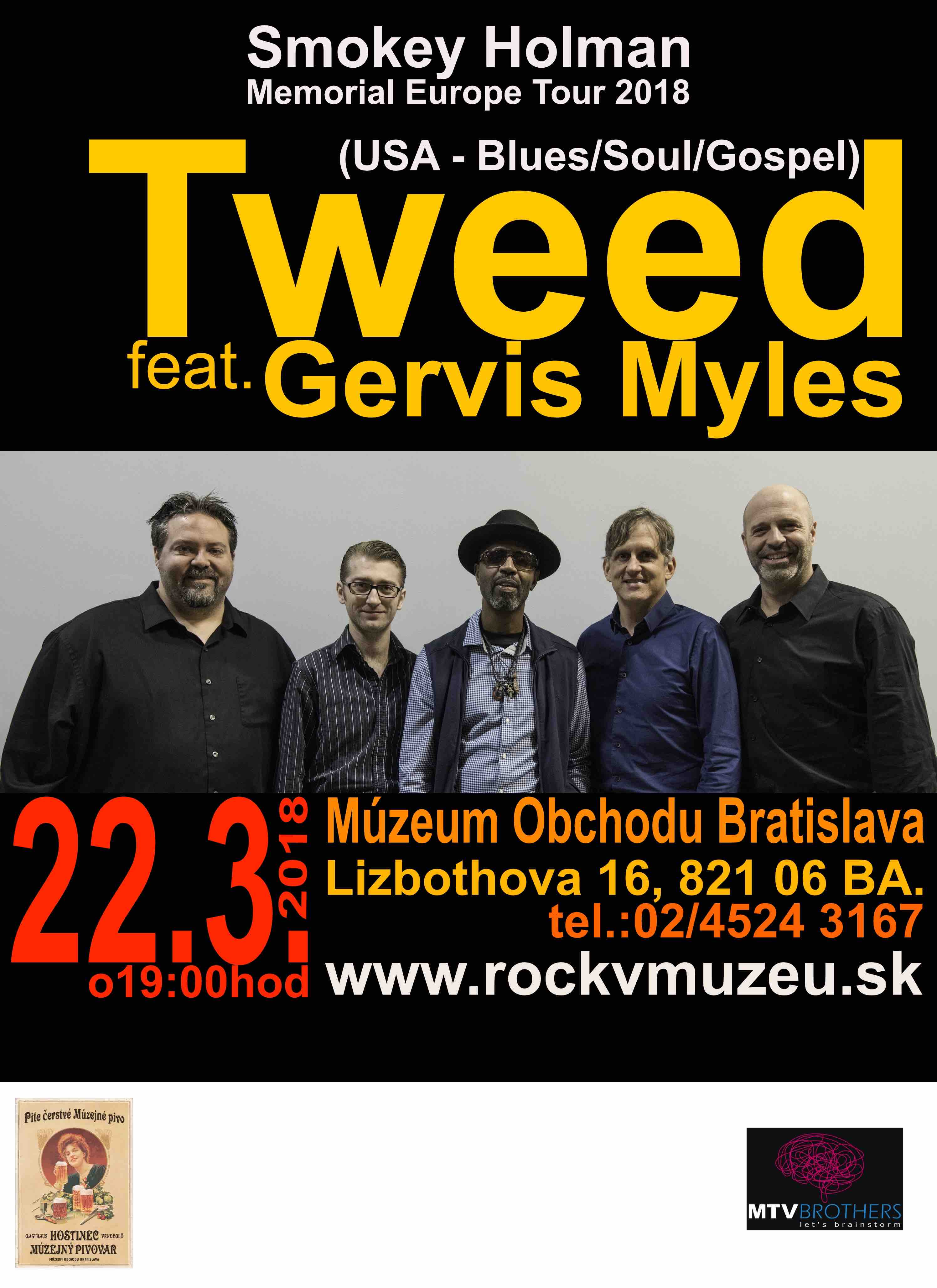 Tweed Funk Tour